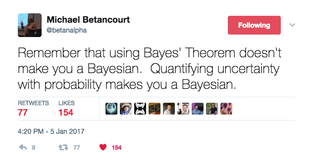 @betanalpha bayesian tweet