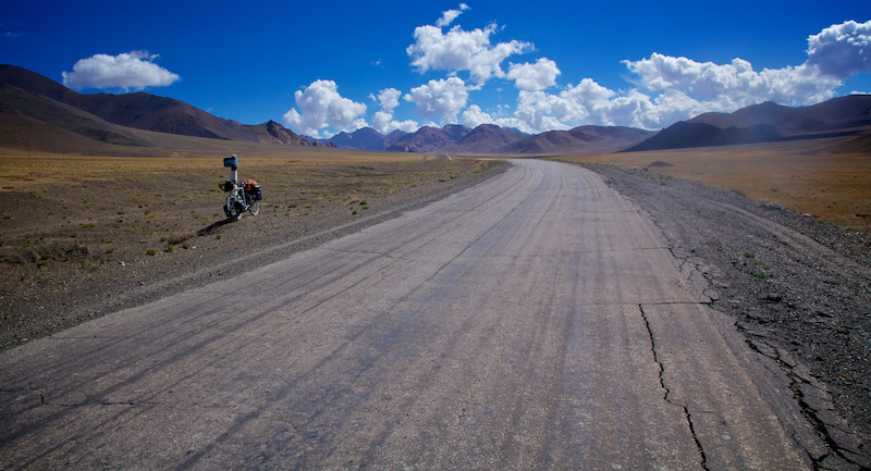 Cycling the weird and wide in Central (f*cking) Asia